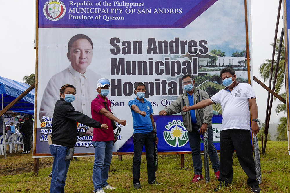 Bloomberry Cultural Foundation funds the construction of first hospital in remote Quezon town