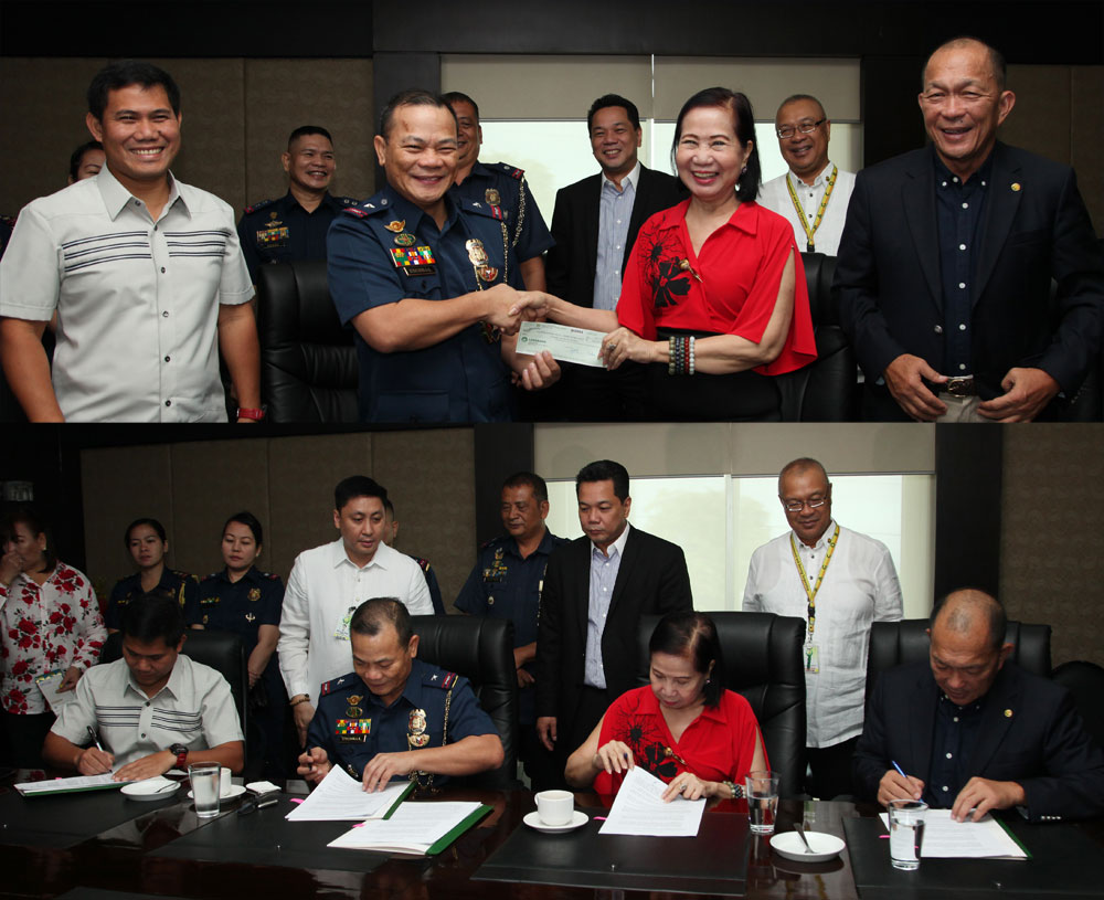 Highway Patrol Group receives P4 million funding from PAGCOR