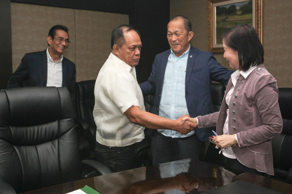 NBI receives P5 million grant from PAGCOR