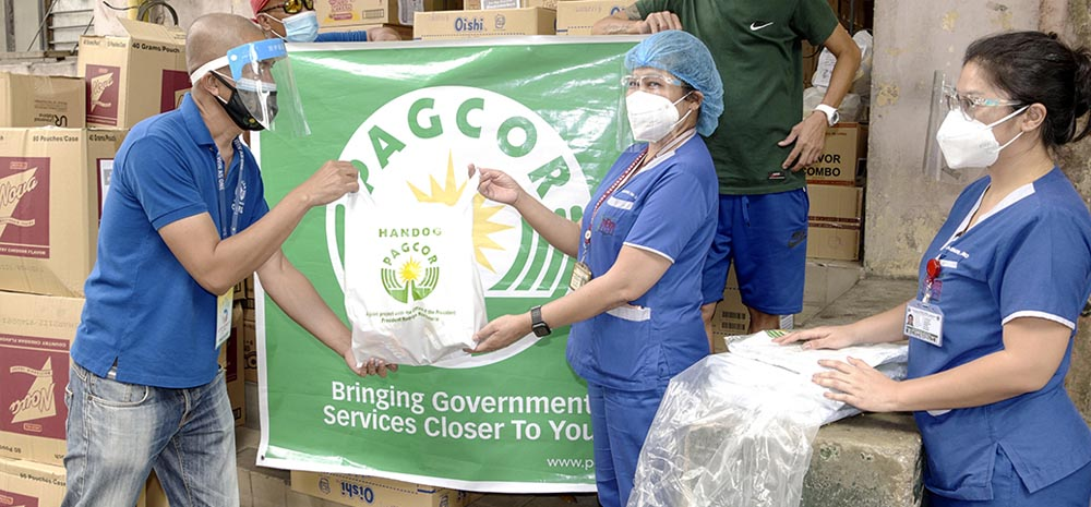 PAGCOR delivers comfort to healthcare frontliners