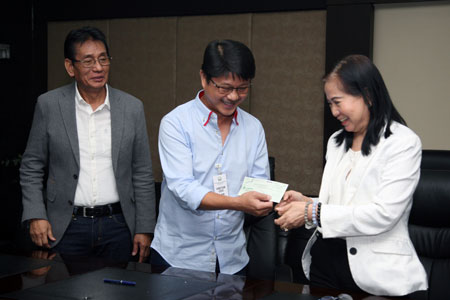 PAGCOR donates P11 million to provinces affected by typhoon 'Lawin'