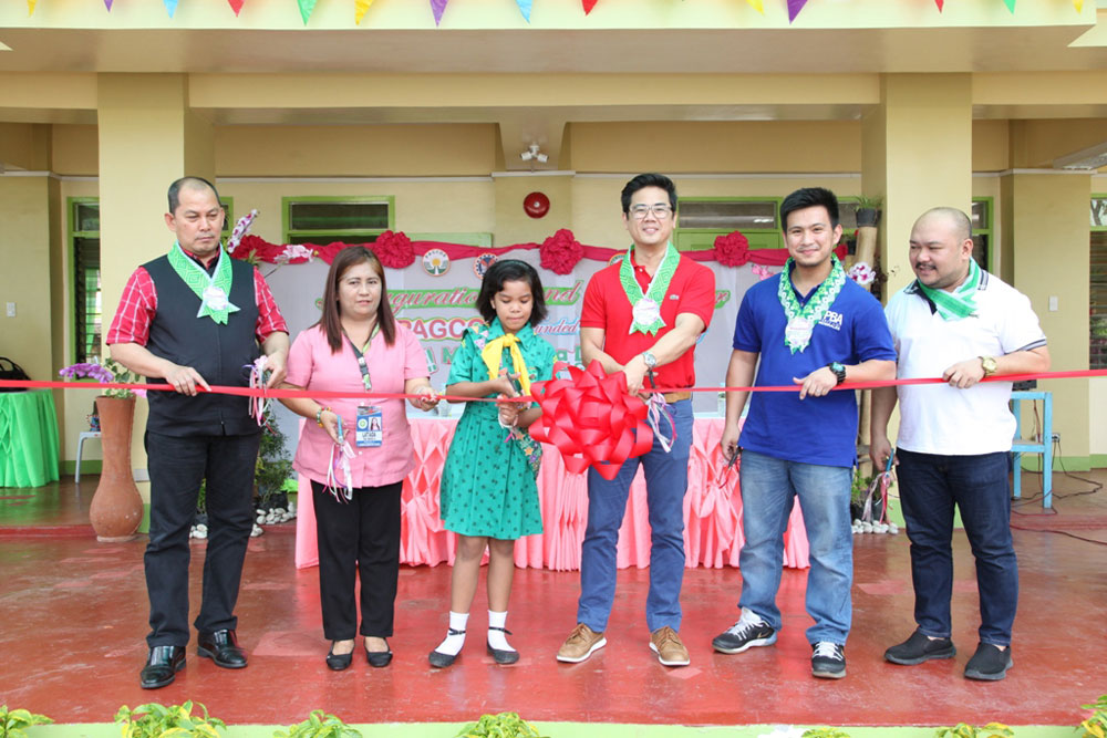 PAGCOR donates school buildings, computers to Davao City