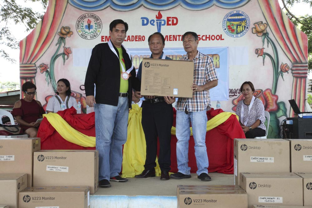 PAGCOR's Handog Computer Program reaches Yolanda victims in Western Visayas
