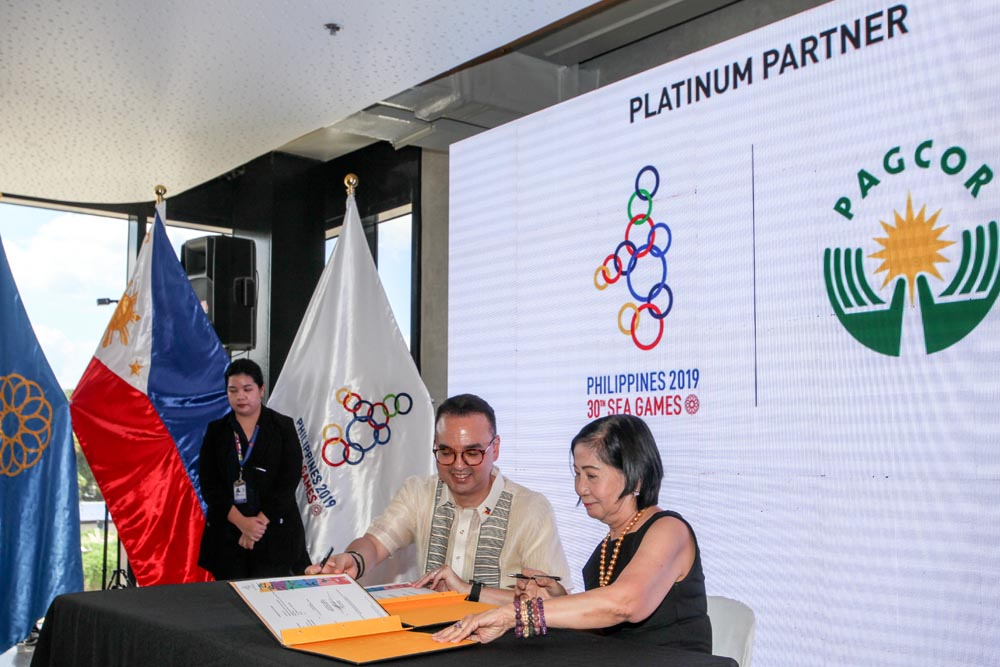 PAGCOR, PHISGOC ink accord