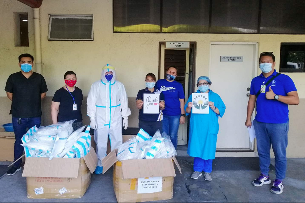 PAGCOR, POGO deliver over 47,000 food packs to COVID-19 affected communities