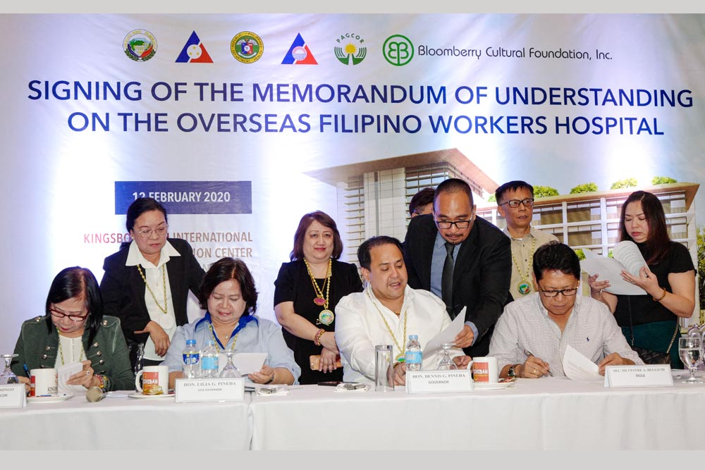 PAGCOR's licensed casinos to fund hospitals for PSG and OFWs