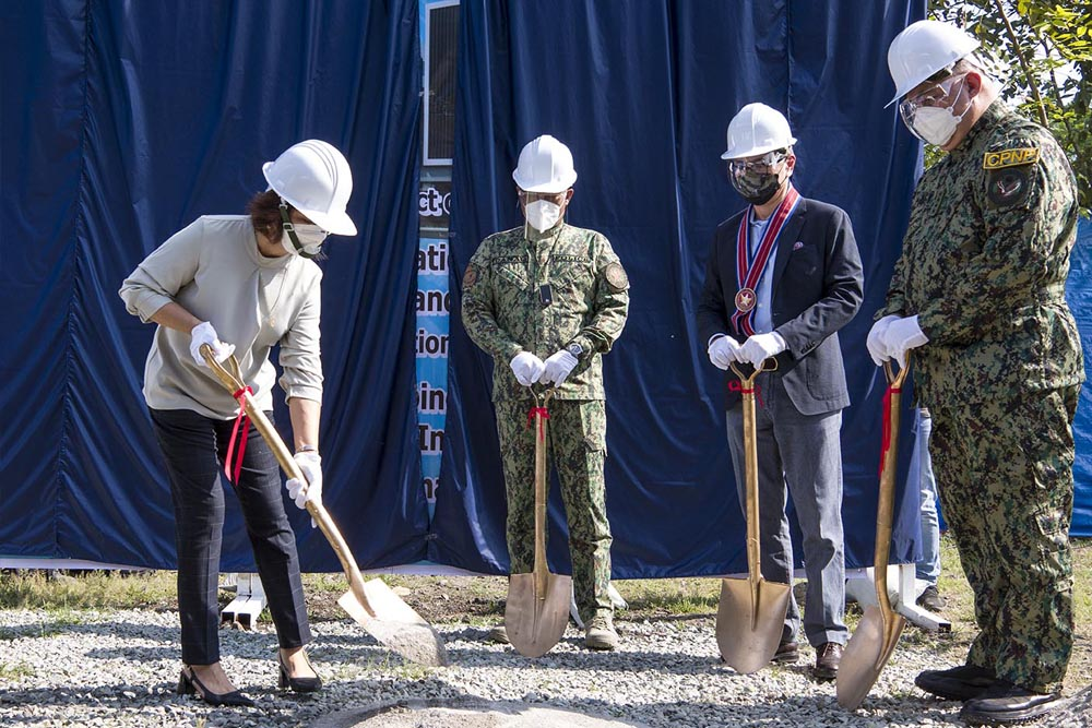 Resorts World Foundation leads groundbreaking for new NCRPO medical center